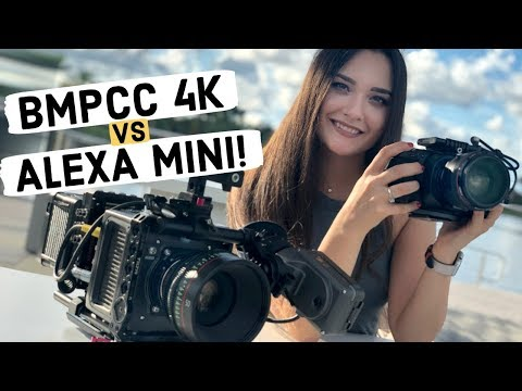 BMPCC 4K vs ARRI Alexa Mini (Blackmagic Pocket Cinema Camera