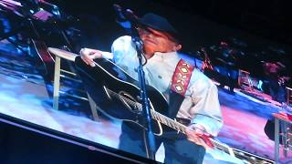George Strait - God and Country Music/2018/Las Vegas, NV/T-Mobile Arena