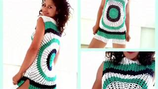 Enjoy Summer Top. Crochet tutorial