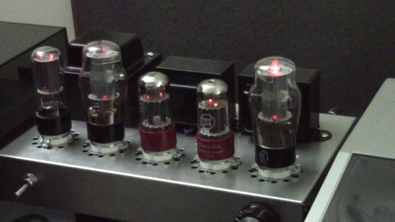 Nobsound 6n8P+6P3p Tube Amp Kit