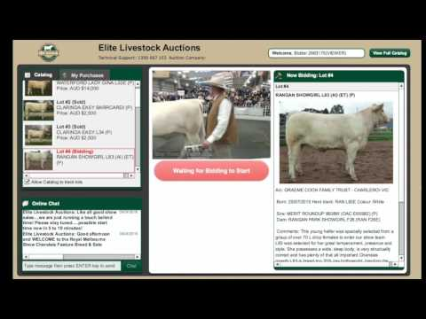 Royal Melbourne Show - 2016 Charolais Feature Show & Sale