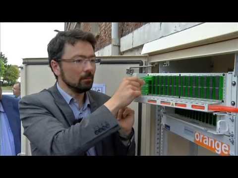 Le parcours de la fibre optique