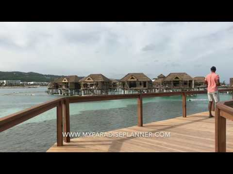 Tour of the new Overwater Villas (OWV) at Sandals Resorts