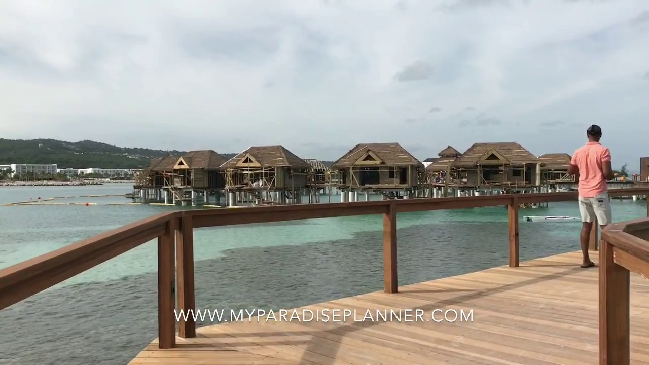 082837ee7 Tour of the new Overwater Villas (OWV) at Sandals Resorts (Sandals Royal  Caribbean) - YouTube