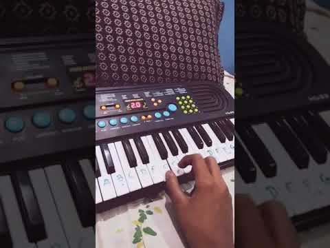 Tari mari Jodi on piano from yash