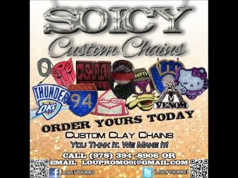 """SO ICY CUSTOM CHAINS """"YOUNG CHUBBS"""" GIVES HIS S/O TO DA BEST IN DA GAME """"LOU-PROMO"""""""