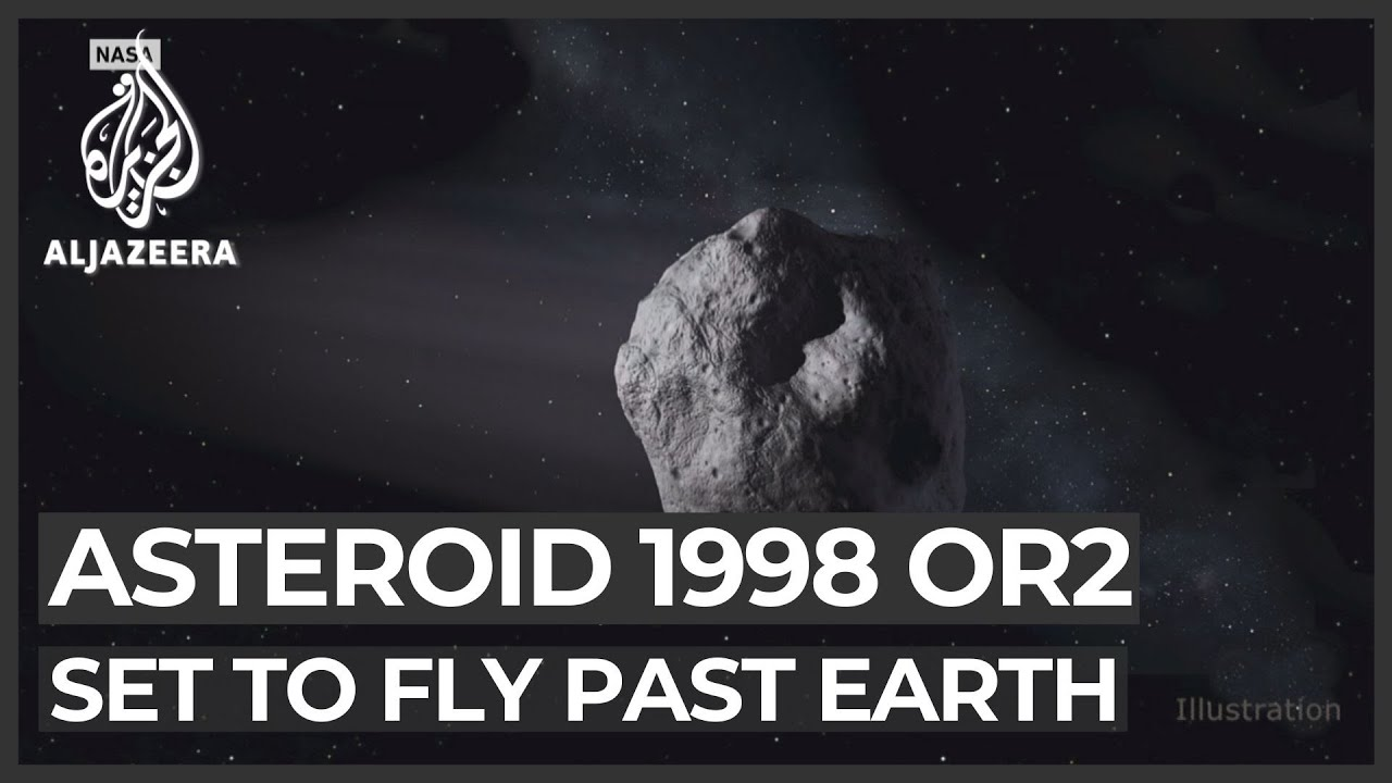 Giant asteroid 1998 OR2 set to fly past Earth safely