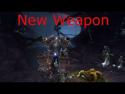 New weapon - fury warrior pvp 8.2