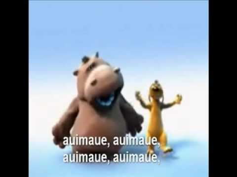 The Lion Sleeps Tonight - The Lion King - com a letra desta canção Ingles & Português - Mpeg 4