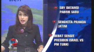 Repeat youtube video Amalia Gamyla @ Bulletin Malam RCTI