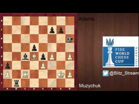 FIDE World Cup 2015 Baku Rd1.2   Atabayev vs Grischuk and 2 other games