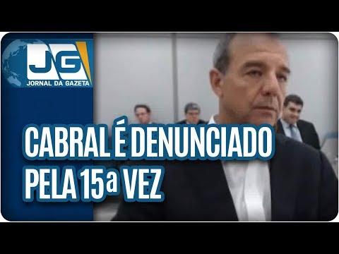 Cabral é denunciado pela 15ª vez