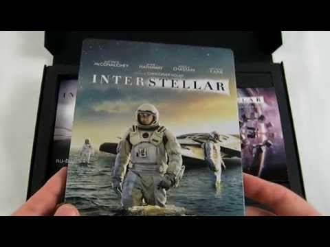 Interstellar Coffret Collector Blu Ray Edition Spéciale FNAC Unboxing