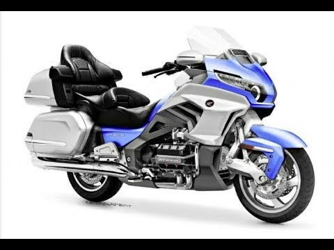 2018 HONDA GOLDWING With New Front Suspension - YouTube