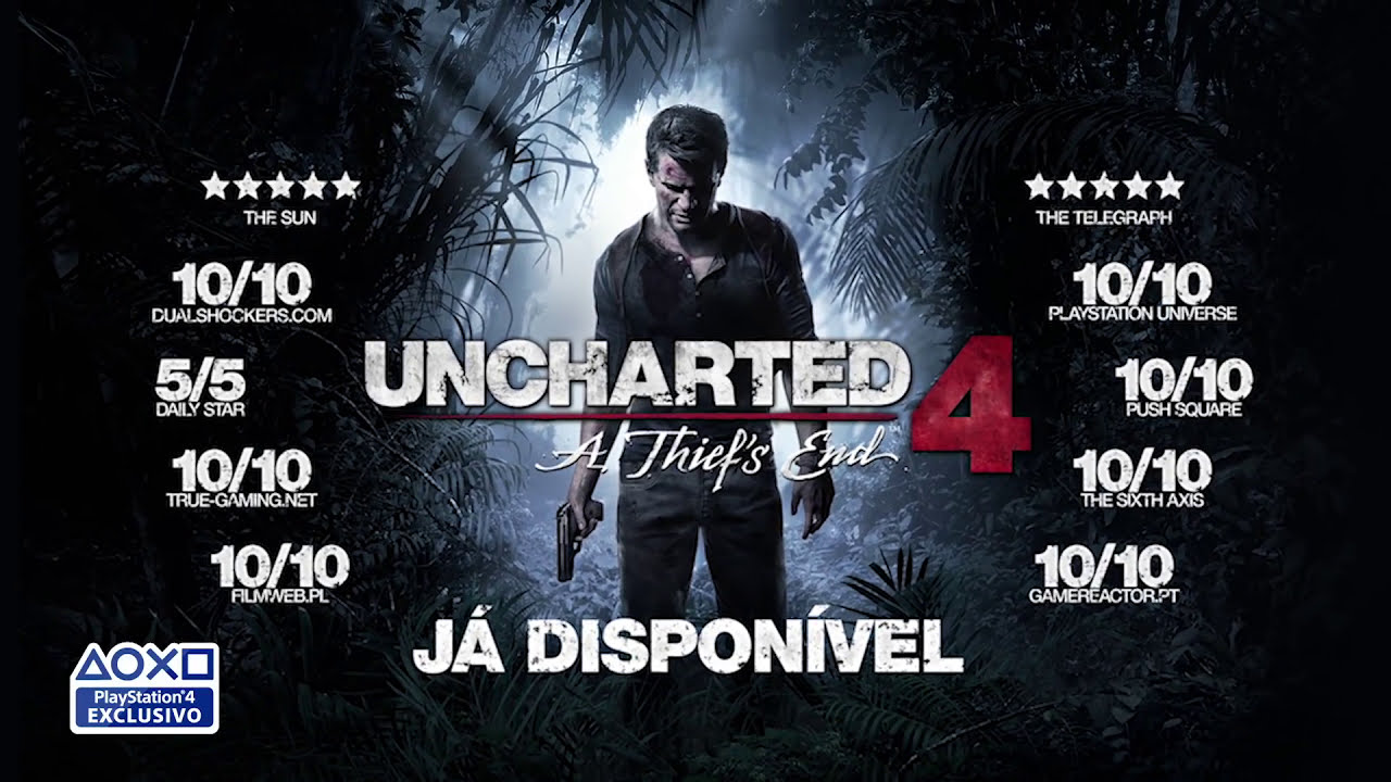 SONY PLAYSTATION - UNCHARTED 4 + @G4 DRONE
