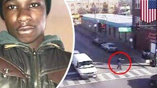 米シカゴ警察が2013年1月7日に少年(17)を射殺した事件の証拠映像が、...