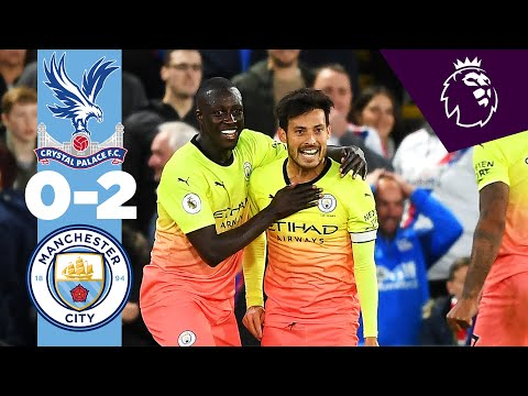 HIGHLIGHTS | Crystal Palace 0-2 Man City | Jesus, Silva