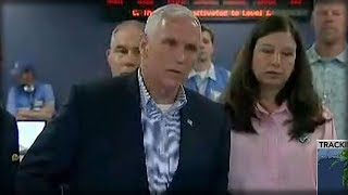 MIKE PENCE WALKED INTO FEMA AND MADE A FOUR WORD PROMISE THAT'S SWEEPING THE NATION