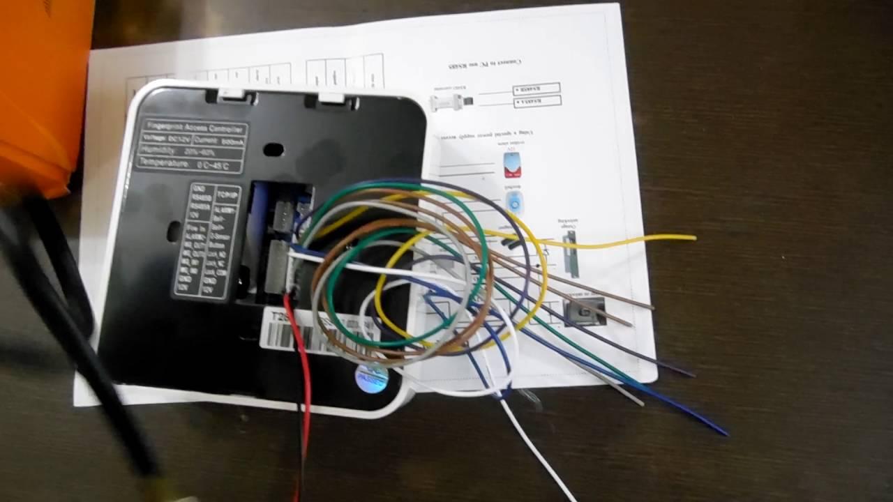 T28 Biometric Attendance  U0026 Access Control