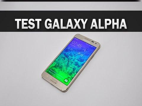 Test du Samsung Galaxy Alpha - par Test-Mobile.fr