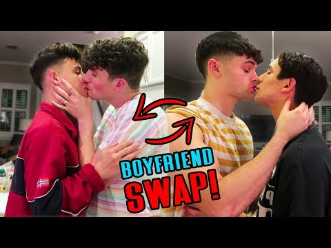 SWITCHING BOYFRIENDS FOR 24 HOURS W/ Nick Toteda And Anthony Cushion