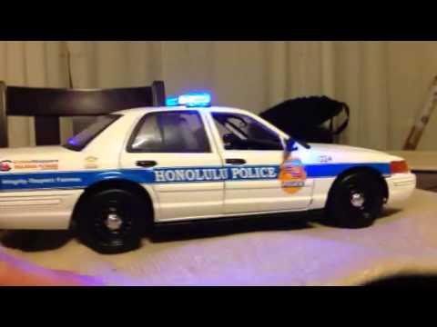 1:18 Honolulu Police Department die-cast Replica