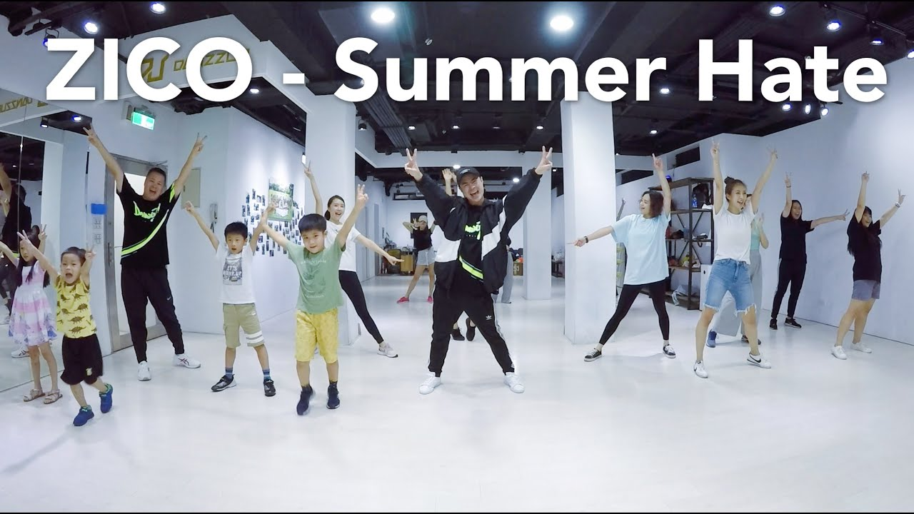 ZICO - Summer Hate (Feat. RAIN)  / 小霖老師 (週一下午班) / 簡易MV舞蹈版 / 初級跳舞課