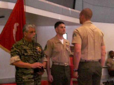 Jake Wood Marine Scout/Sniper Honor Graduate