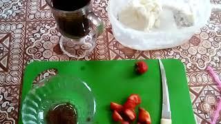 РЕЦЕПТ кофе ( с мороженым, клубникой и шоколадом)