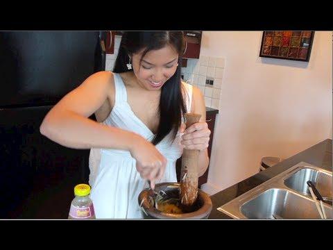 Green Papaya Salad old version  Hot Thai Kitchen!