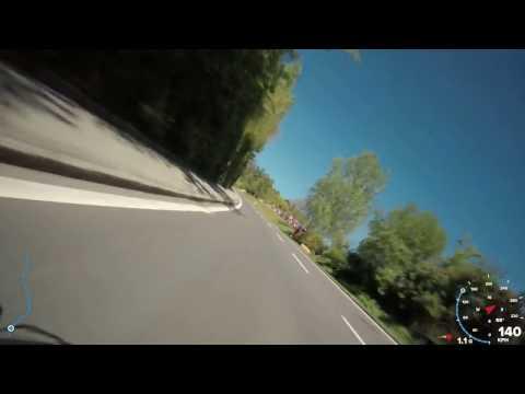 1000PS Dreht auf - Onboard Roadrace - Landshaag 2017 -  Andreas Gangl Onboard