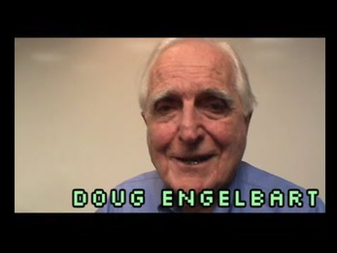 Doug Engelbart and Brad Neuberg: HyperScope - September 2006