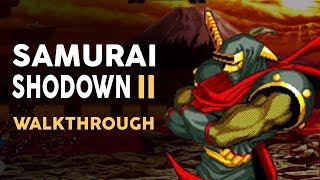 Samurai Shodown 2 - Hanzo Walkthrough
