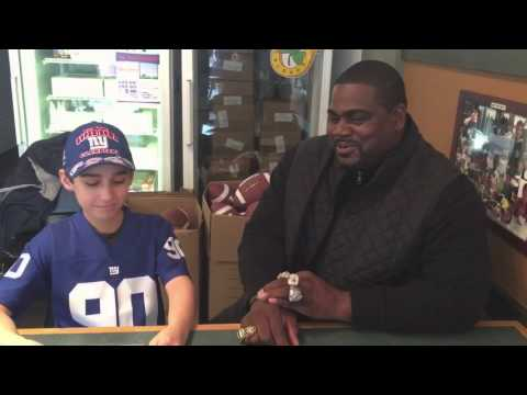Pepper Johnson Interview (5 Time Super Bowl Champion)