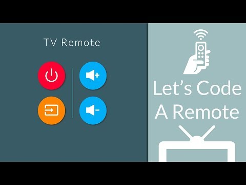 Let's Code A TV Remote | CSS, HTML, JavaScript