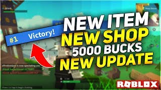 5,000 FREE BUCKS💸NEW ITEM *GUZZLE JUG*😱2 NEW SHOPS🔥ISLAND ROYALE🏝️ROBLOX