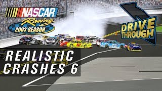 NR2003 Realistic Crashes 6 [NASCAR Racing 2003 Season Crash Compilation]
