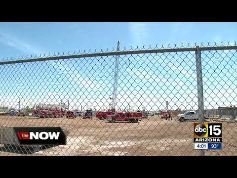 Worker missing after crane collapse near Phoenix Sky Harbor Airport