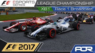 F1 Esports Series 2017: XB1 League Championship - Race 1 - China