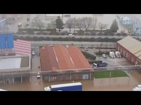 Inundaciones en Torrelavega