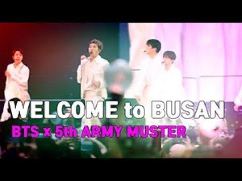 [스팟뉴스] Welcome to Busan, BTS X Army