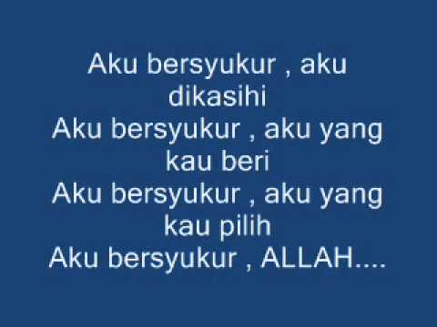 Radja -- SYUKUR [With Lyrics]