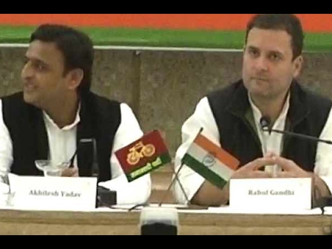 JOINT PRESS CONFERENCE: BJP spreads hatred but Mayawati doesn't pose that threat, says Rahul Gandhi