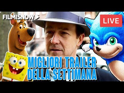 I MIGLIORI TRAILER DELLA SETTIMANA - LIVE STREAM   FilmIsNow Trailer & Clip in Italiano