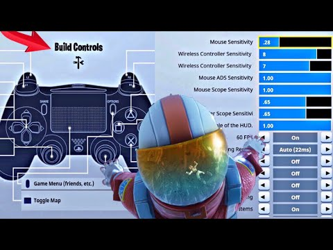 *BEST* FORTNITE CONTROLLER SETTINGS! PS4/XBOX ONE ON ...
