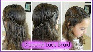 Diagonal Lace Braid /  Bonita Hair Do