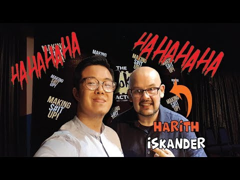 Meeting The World's Funniest Man Harith Iskander (...according to Finland la)