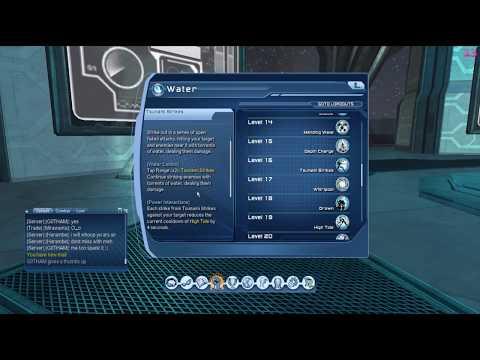 DC Universe Online - Testing Water Power