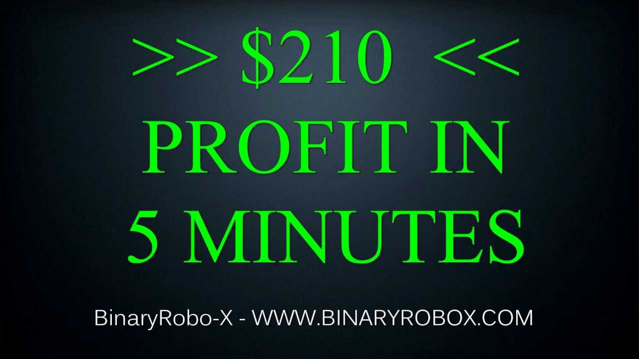 Binary options robot trading results