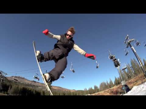 Boreal Opening Day Edit—First Resort To Open in California